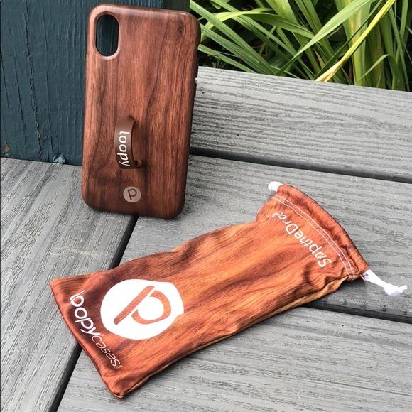 7f324cb6eb Loopy Accessories | Original Iphone X Teakwood Matte Edition | Poshmark
